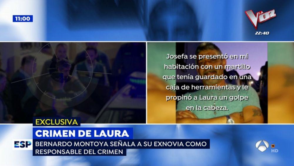 """Bernado Montoya, el asesino confeso de Laura Luelmo cambia su versión y acusa a una exnovia: """"No me voy a comer el marrón de Josefa"""""""