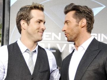 Ryan Reynolds y Hugh Jackman