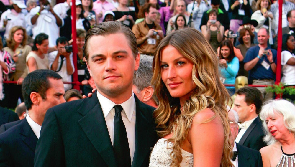 Gisele Bündchen y Leonardo DiCaprio