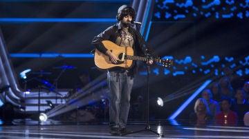 Jesús Albarrán canta 'Mister Tambourine Man' en las 'Audiciones a ciegas' de 'La Voz'