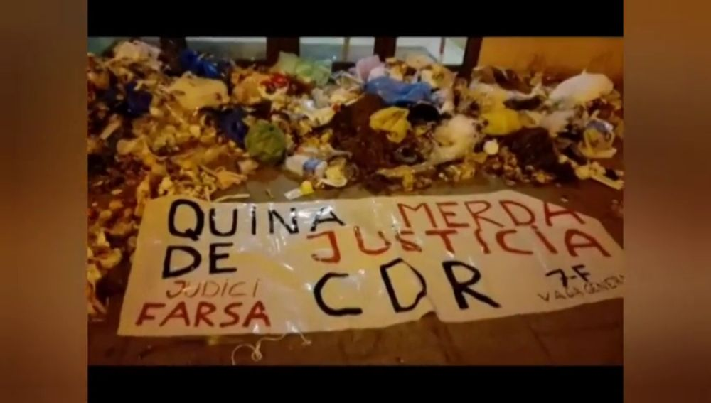 """El TSJC pide que se depuren responsabilidades ante la """"cadena de sabotajes"""" a sedes judiciales por parte de los CDR"""