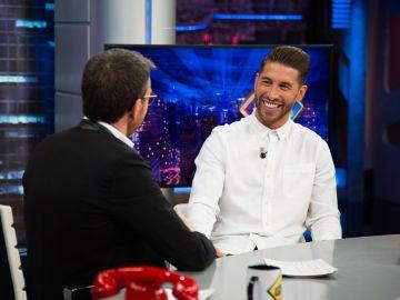 """Sergio Ramos se rinde ante su hijo Marco en 'El Hormiguero 3.0': """"Me siento como reencarnado en él"""""""
