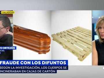 Detenidos los dueños de una funeraria que cambiaban los ataudes por palés de obra para incinerar difuntos