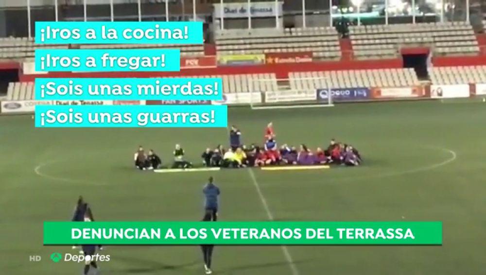 El Terrassa retira de la competición a su equipo de veteranos por los insultos machistas