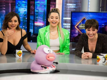 Trancas y Petancas juegan al 'Tu cara no suena' con Chenoa, Mimi y Soraya Arnelas
