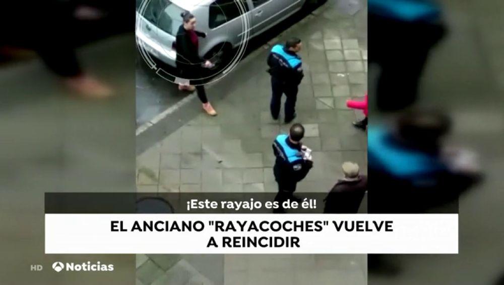 El octogenario que rayaba los coches de sus vecinos en Vigo vuelve a destrozar los vehículos del barrio