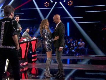 """Paulina Rubio se lleva a Mark Wayne a su equipo: """"Te auguro un gran futuro en este gran concurso"""""""