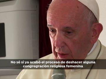 """El Papa asume que el maltrato y abuso a monjas por parte del clero """"es un problema"""" que """"todavía se hace"""""""