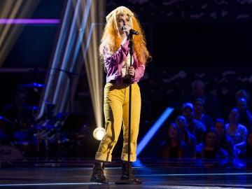 Vídeo: Eva Izquierdo canta 'The high road' en las 'Audiciones a ciegas'