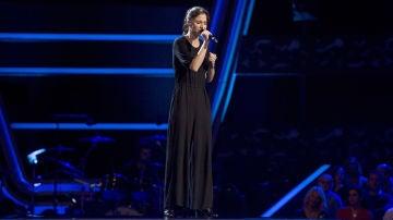 Teresa Ferrer canta 'Defying gravity' en las 'Audiciones a ciegas' de 'La Voz'