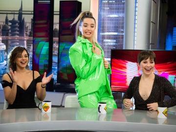 Mimi hace magia con sus bailes y su chaqueta de mil colores en 'El Hormiguero 3.0'
