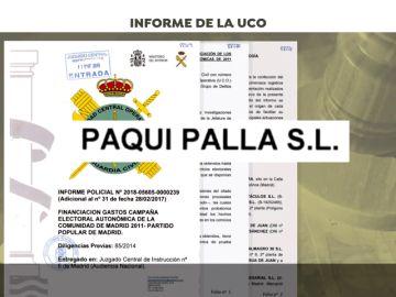 """""""Paquí Pallá"""", una de las empresas pantalla utilizada por el PP de Madrid"""