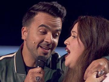 VÍDEO: Naiara Hernández y Luis Fonsi hacen una bonita versión de 'Imagíname sin ti'