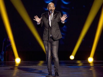 Mark Wayne canta 'Let's stay together' en las 'Audiciones a ciegas' de 'La Voz'