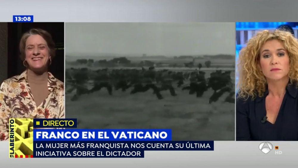 Por qué Pilar Gutiérrez, 'la mujer más franquista de España', pedirá al Papa la canonización de Franco