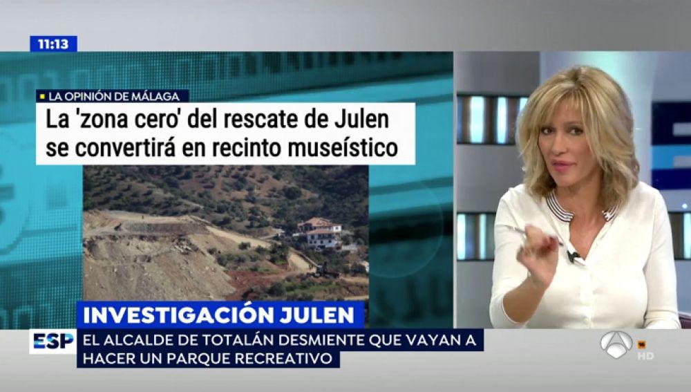 El alcalde de Totalán desmiente que la montaña donde murió Julen vaya a convertirse en un museo en memoria del niño