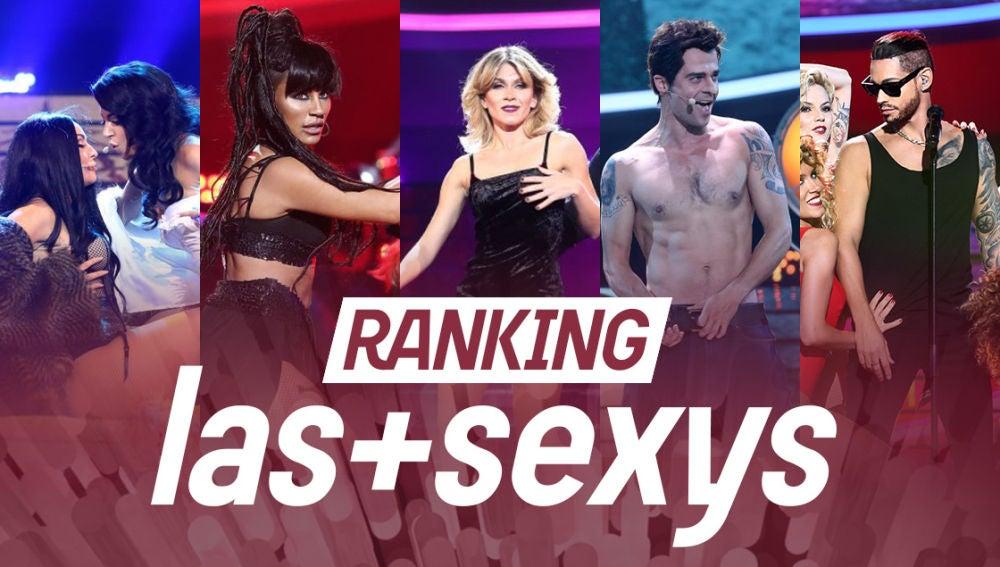 ¡Vota por la actuación más sexy de la séptima temporada de 'Tu cara me suena'!