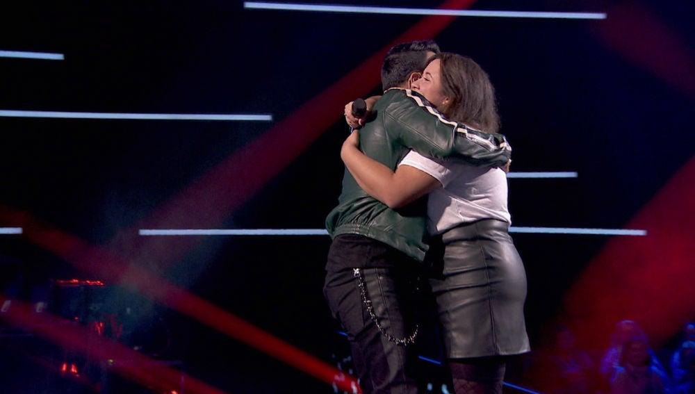 VÍDEO: Luis Fonsi se emociona tras conseguir la voz de Naiara Hernández