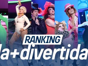 ¡Vota por la actuación más divertida de la séptima temporada de 'Tu cara me suena'!