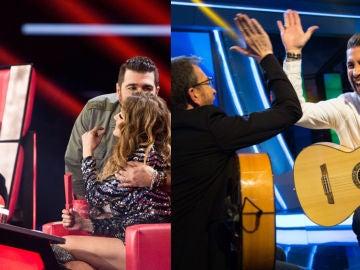 'La Voz', líder imbatible, y nuevo récord de temporada para 'El Hormiguero 3.0'