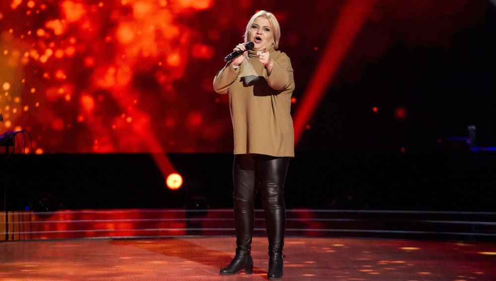 VÍDEO: Rosa Marín canta 'Lo siento, mi amor' en las 'Audiciones a ciegas' de 'La Voz'