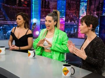 Disfruta de la entrevista al completo de Chenoa, Mimi y Soraya Arnelas en 'El Hormiguero 3.0'