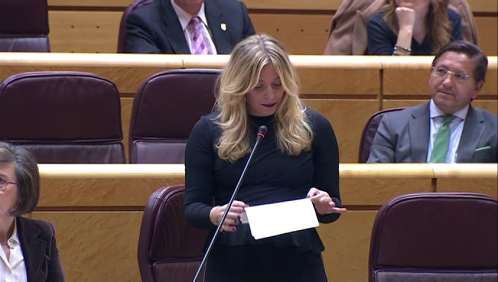 """Esther Muñoz, senadora del PP, sobre los presupuestos destinados a la memoria histórica: """"15 millones de euros destinados a que ustedes desentierren unos huesos """""""