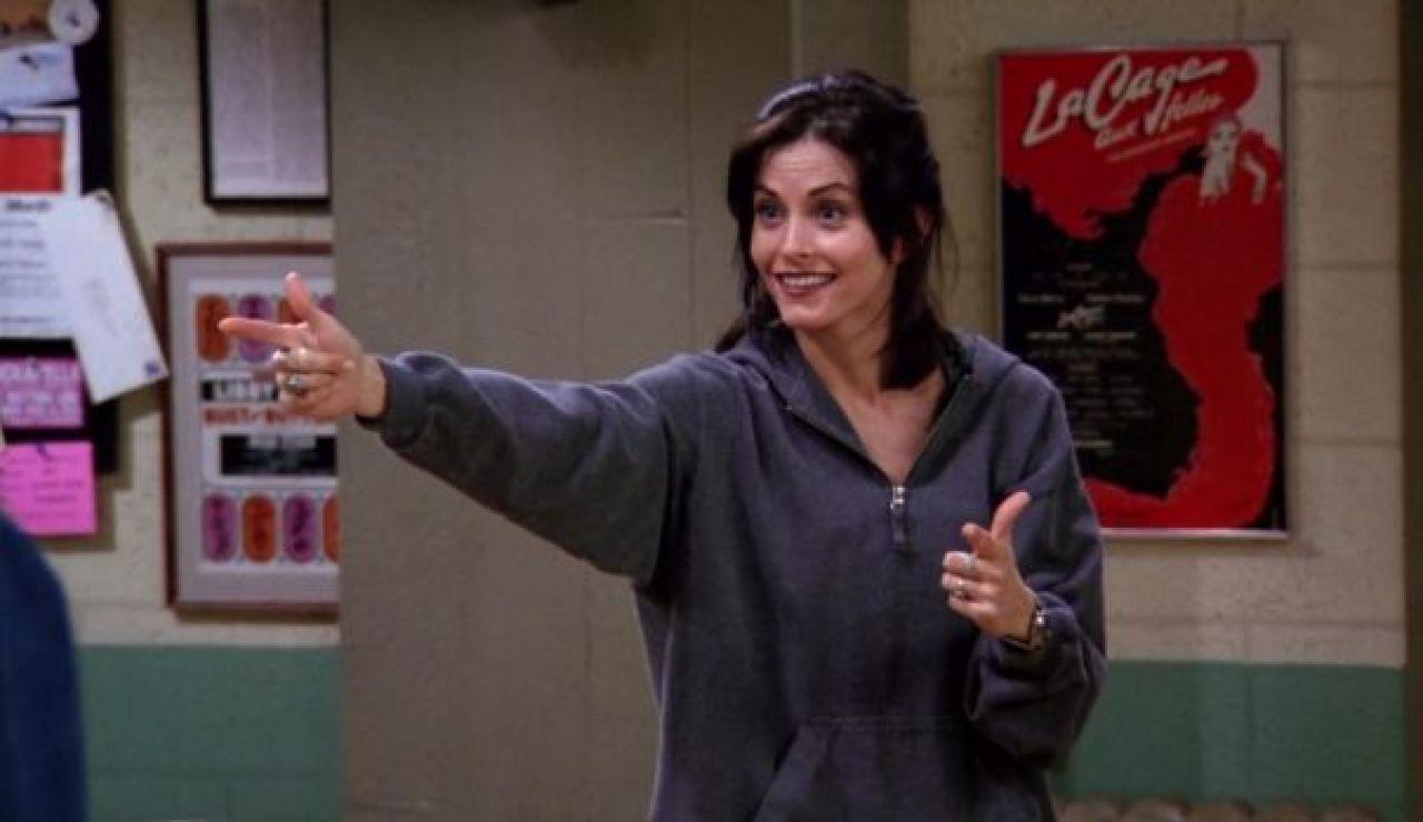 Courteney Cox como Monica en 'Friends'