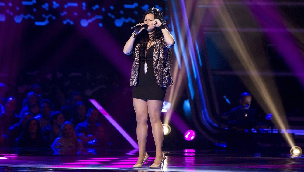 Lydia Ruiz canta 'Boig per tu' en las 'Audiciones a ciegas' de 'La Voz'