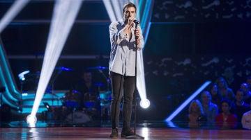 Vídeo: Álvaro de Luna canta 'La Flaca' en las 'Audiciones a ciegas'