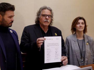 ERC presenta una enmienda a la totalidad a los PGE