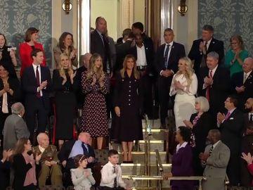 Primera aparición pública de Melania Trump desde diciembre