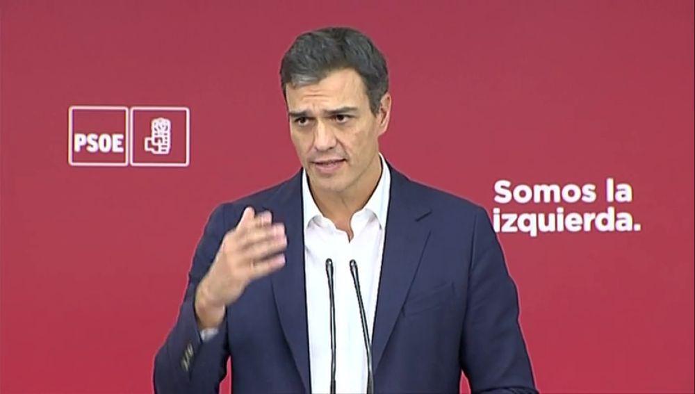 """Pedro Sánchez en 2017: """"El Congreso es el mediador perfecto"""""""