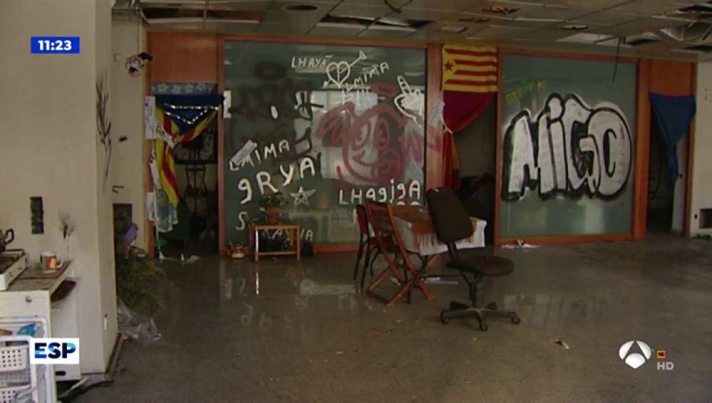 Así es el lugar donde se llevó a cabo la violación de 'La Manada' de Sabadell
