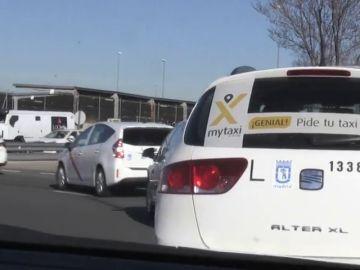 Los taxistas vuelven al trabajo después de la negativa de la Comunidad de Madrid a regular los VTC