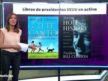 Obama y Clinton publicaron libros durante su mandato