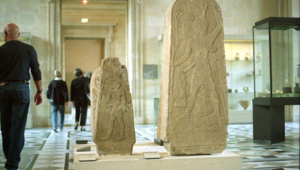 Estela de Baal, Louvre