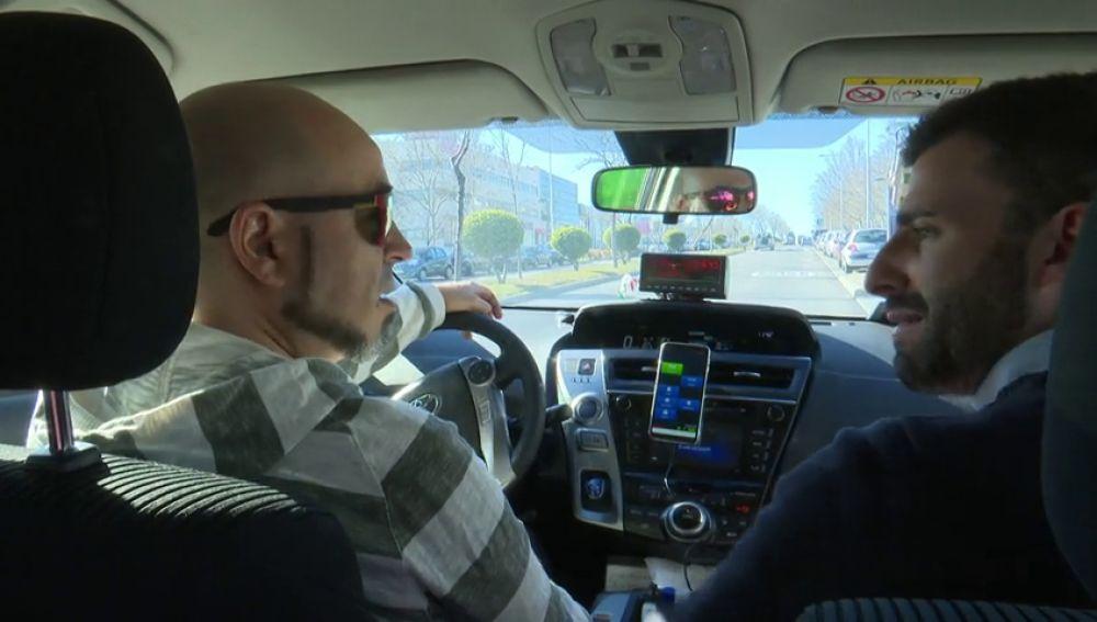"""Moisés, conductor de taxi: """"ha sido muy duro, pero no nos quedaba otra"""""""