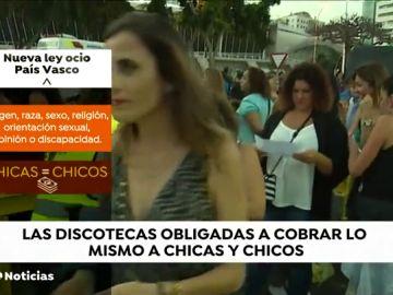Las chicas también tendrán que pagar en las discotecas del País Vasco