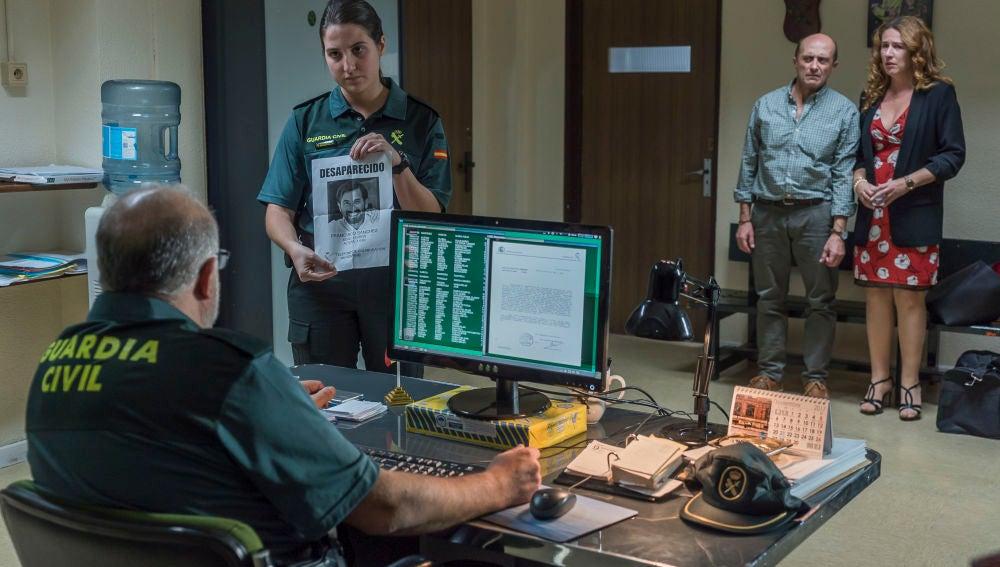 María responde por Almudena y Alfonso tras huir en un control de la Guardia Civil