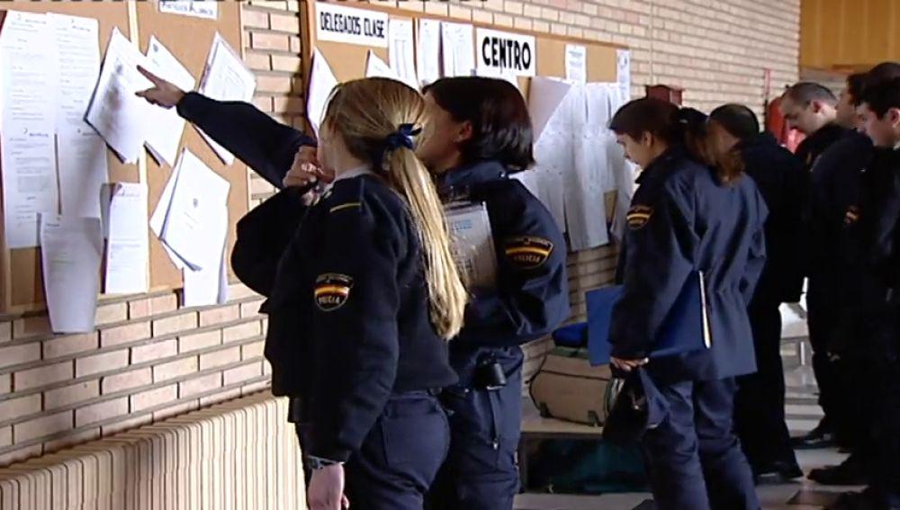 Las alumnas policías de la Escuela Nacional de Ávila llevan casi un mes sin agua caliente por una avería