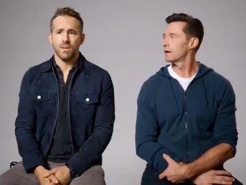 Ryan Reynolds y Hugh Jackman en un nuevo trolleo