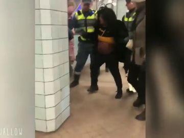 Polémica actuación policial contra una mujer embarazada