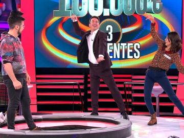 Arturo Valls demuestra ser el rey de la pista en '¡Ahora caigo!'