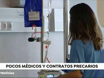 REEMPLAZO Los médicos de la Comunidad Valenciana y Aragón denuncian la precariedad del sector