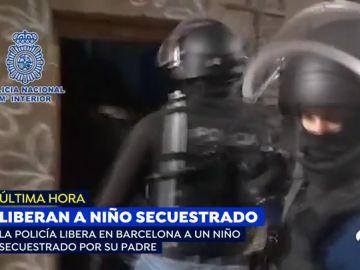 Liberan a un niño de 8 años que fue secuestrado en Holanda y estaba retenido en el centro de Barcelona