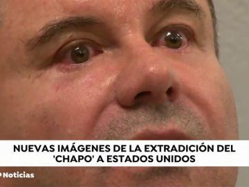 Un vídeo inédito muestra al 'Chapo' Guzmán llorando al llegar a Nueva York