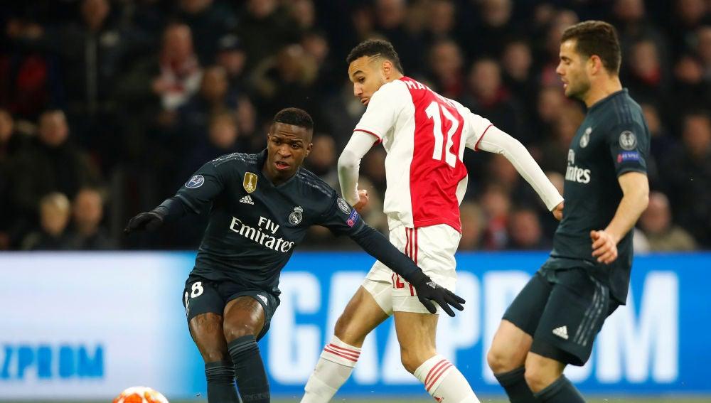 Vinicius, contra el Ajax