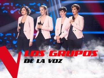 VÍDEO: Los cuatro grupos de 'La Voz' que han enamorado a los coaches