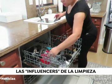 Los 'influencers' de la limpieza que está creando tendencia en las redes sociales